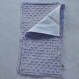 Light Purple Minky Burp Cloth