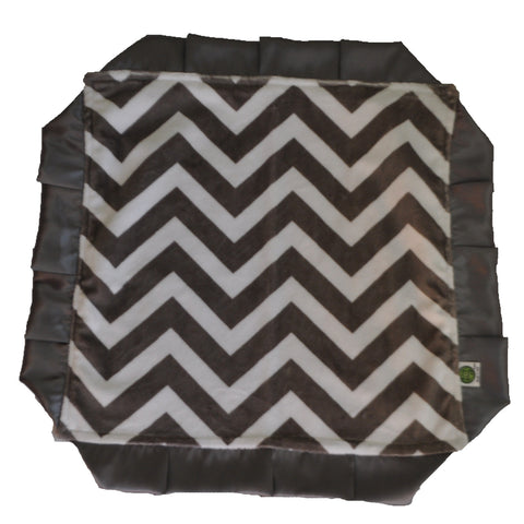 Gray Chevron Secutiry Blanket