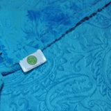 Paisley Minky Baby Blanket Collection 9 Colors Available