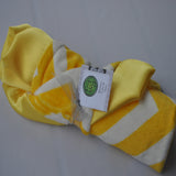 Chevron Minky Luxury Yellow Lovie/ Security Blanket
