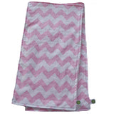 Light Pink Chevron Burp Cloth