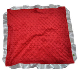 Crimson and Gray Security Blanket