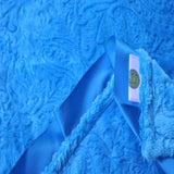 Paisley Security/Lovie Blanket Turquoise