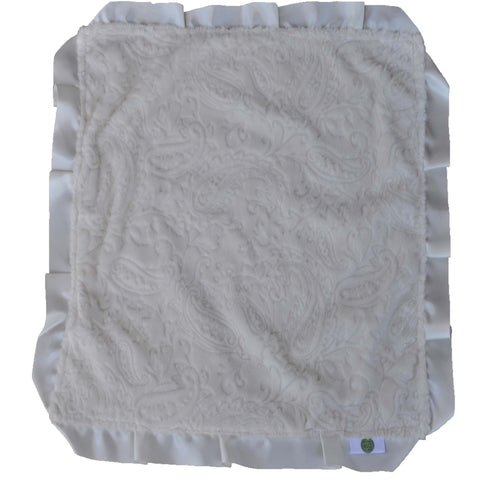 Cream Paisley Security Blanket