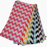 Chevron Burp Cloths