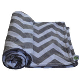 Chevron Minky Blanket 6 Color Options