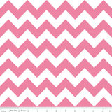 Chevron Blanket Pink with Pink Minky