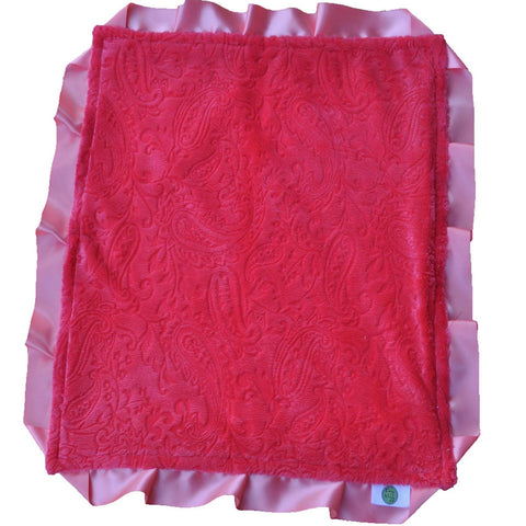 Pink Paisley Security Blanket