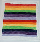 Custom order Rainbow Blanket