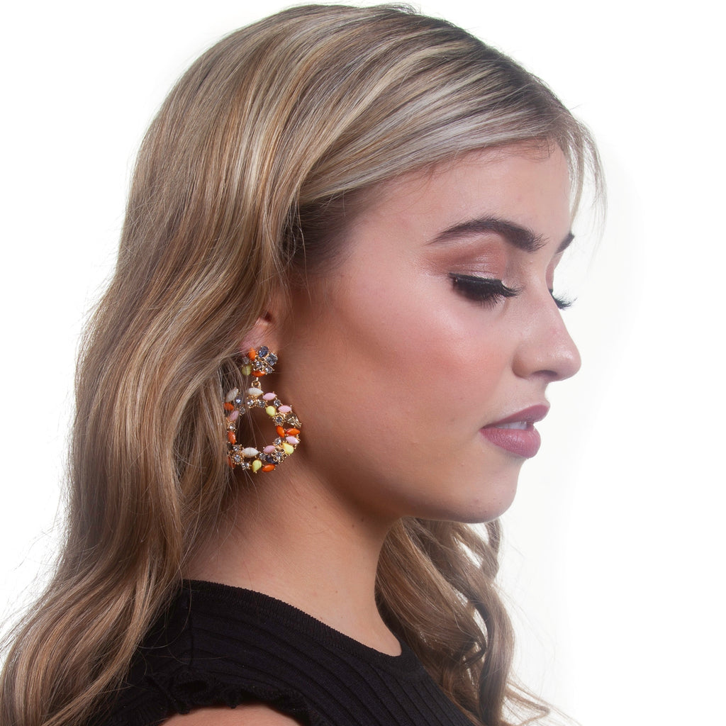 Mariam Earring | Orange