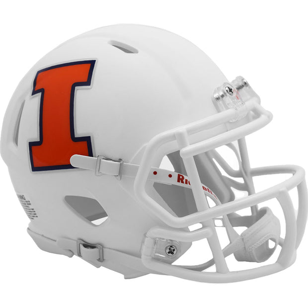Illinois Fighting Illini Riddell Speed Authentic Football Helmet