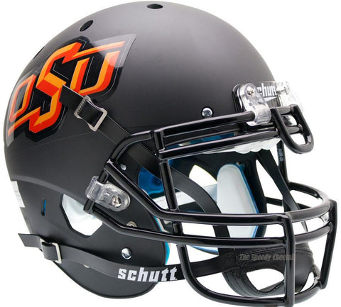 Oklahoma State Cowboys Black Schutt XP Authentic Football Helmet