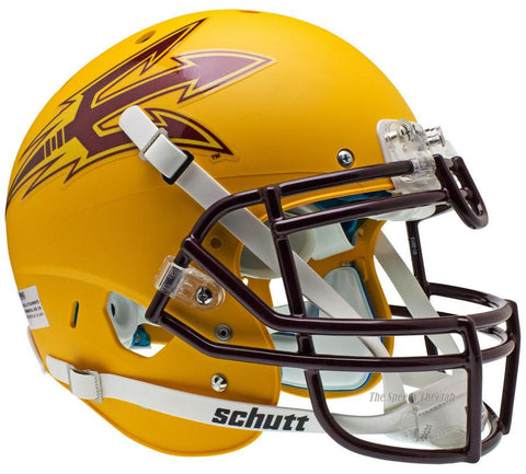 Arizona State Sun Devils Gold Schutt XP Authentic Football Helmet