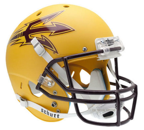 Arizona State Sun Devils Gold Schutt XP Replica Football Helmet