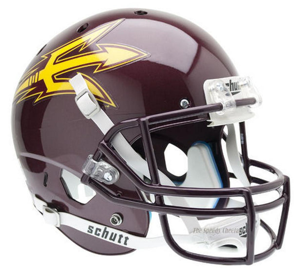 Arizona State Sun Devils Maroon Schutt XP Full Size Replica Football Helmet