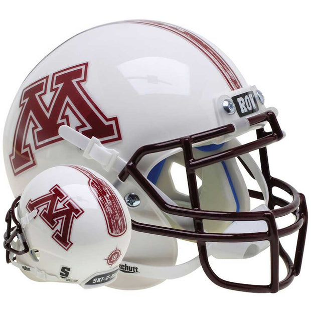 Minnesota Golden Gophers Row The Boat Schutt XP Replica Football Helmet