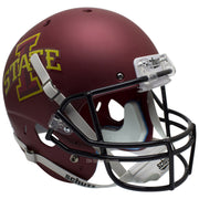 Iowa State Cyclones Matte Maroon Schutt XP Replica Football Helmet