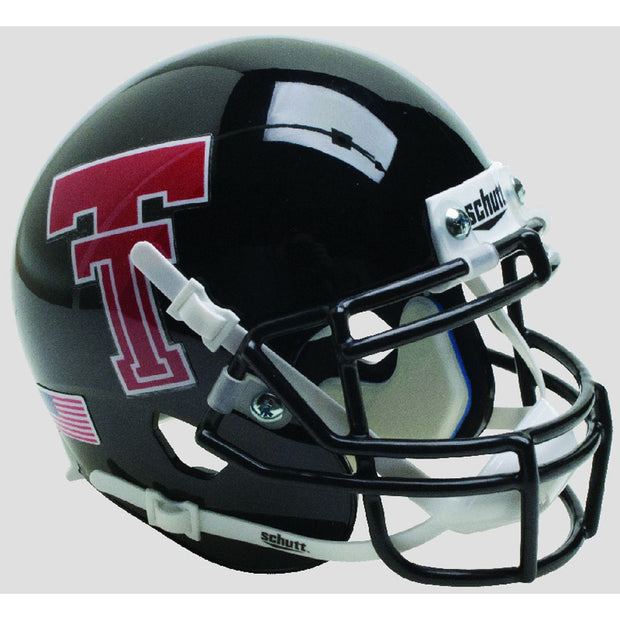 Texas Tech Red Raiders Black Schutt XP Authentic Football Helmet