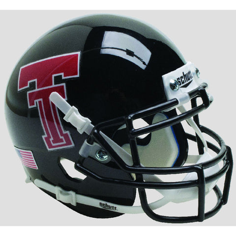 Texas Tech Red Raiders Black Schutt XP Replica Football Helmet