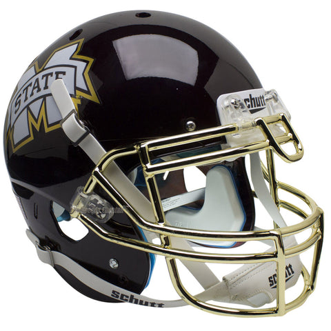Mississippi State Bulldogs Chrome Mask Schutt XP Authentic Football Helmet