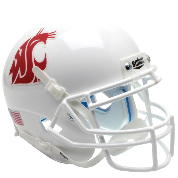 WSU Cougars White Schutt XP Replica Football Helmet