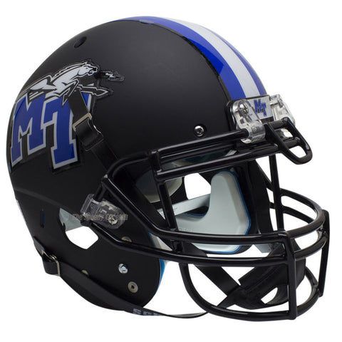 Middle Tennessee State Raiders Black Schutt XP Authentic Football Helmet