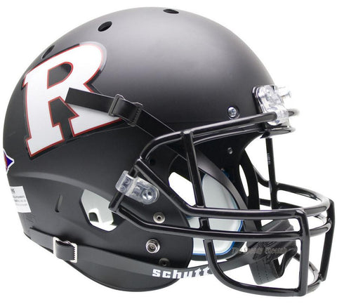 Rutgers Scarlet Knights Black White Schutt XP Replica Football Helmet