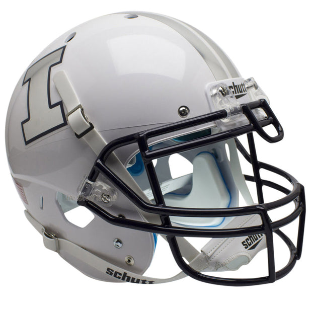 Illinois Fighting Illini White Schutt XP Authentic Football Helmet