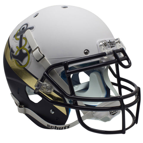 Navy Midshipmen 2012 Special Schutt XP Authentic Football Helmet