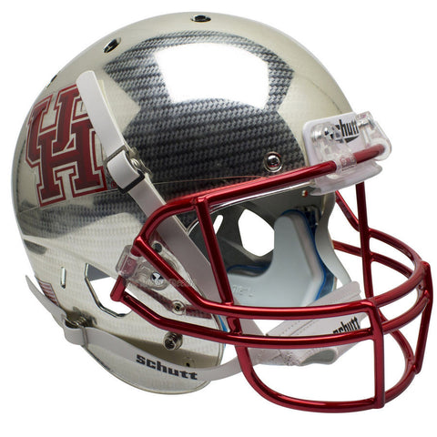 Houston Cougars Crosshatch Schutt XP Replica Football Helmet