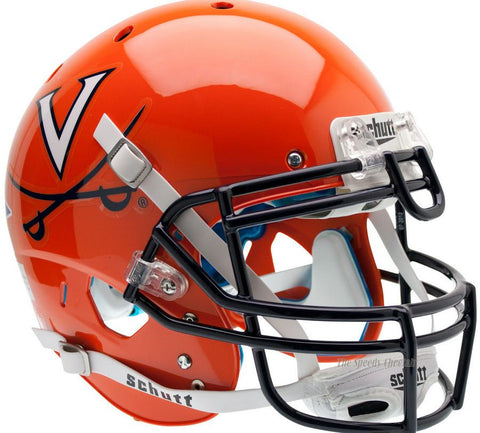 Virginia Cavaliers Orange Schutt XP Authentic Football Helmet