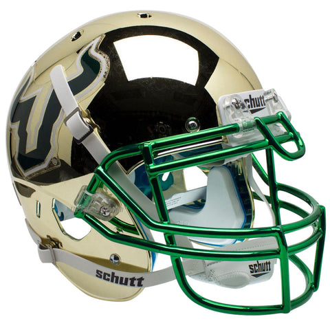 South Florida Bulls Chrome Schutt XP Authentic Helmet