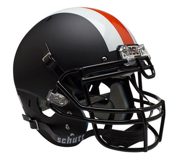 Oregon State Beavers Matte Black Stripe Schutt XP Authentic Football Helmet