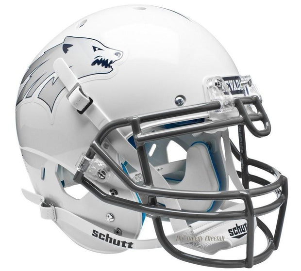 Nevada Wolfpack White Schutt XP Authentic NCAA Football Helmet