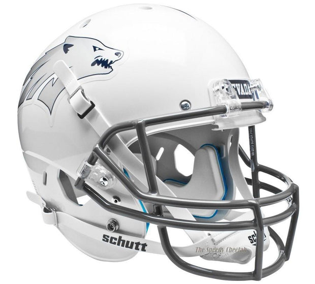 Nevada Wolfpack White Schutt XP Full Size Replica Football Helmet