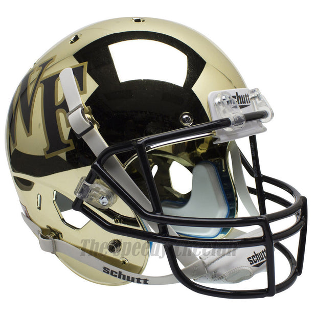 Wake Forest Demon Deacons Chrome Schutt XP Replica Football Helmet