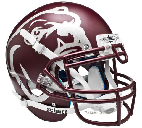 Mississippi State Bulldogs Maroon Laser Schutt XP Authentic Helmet