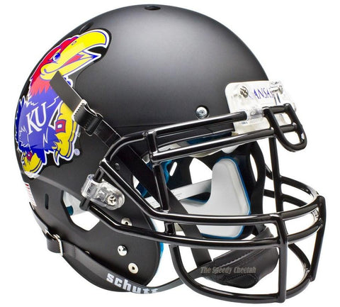 Kansas Jayhawks Black Schutt XP Authentic Football Helmet