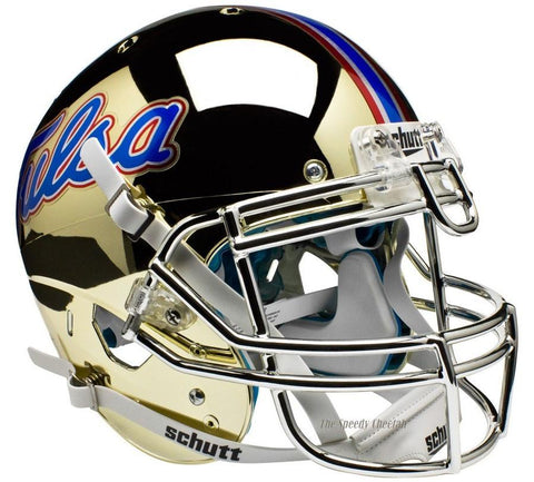 Tulsa Golden Hurricane Chrome Schutt XP Authentic Football Helmet