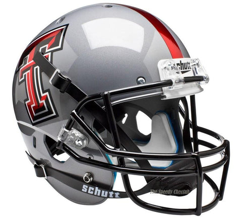 Texas Tech Red Raiders Gray Schutt XP Replica Football Helmet
