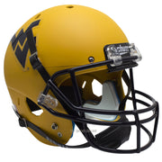 West Virginia Mountaineers Gold Schutt XP Replica Football Helmet