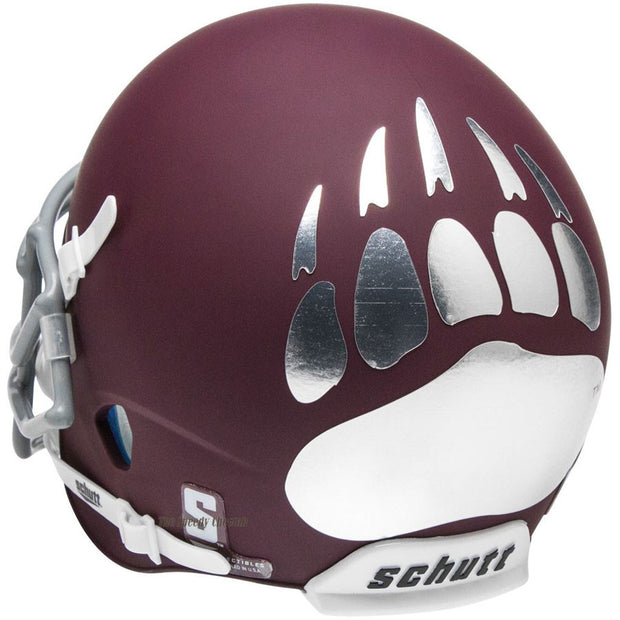 Montana Grizzlies Maroon Schutt XP Replica Football Helmet