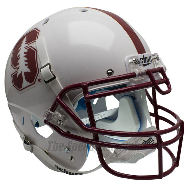 Stanford Cardinal White Tree Schutt XP Authentic Football Helmet