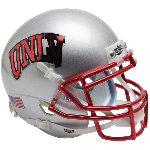UNLV Rebels Chrome Grill Schutt XP Replica Football Helmet