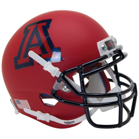Arizona Wildcats Matte Scarlet Schutt XP Authentic Football Helmet