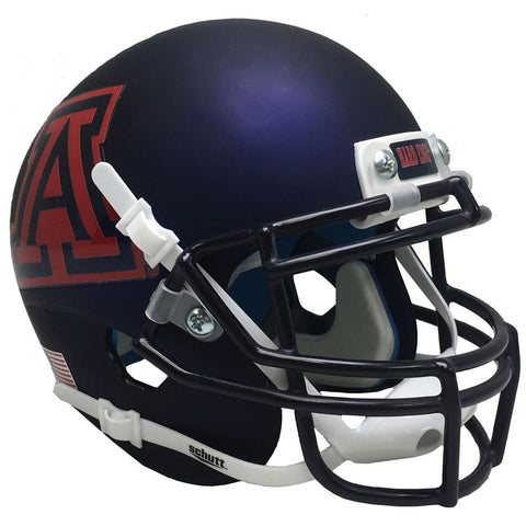 Arizona Wildcats Satin Navy Schutt XP Authentic Football Helmet