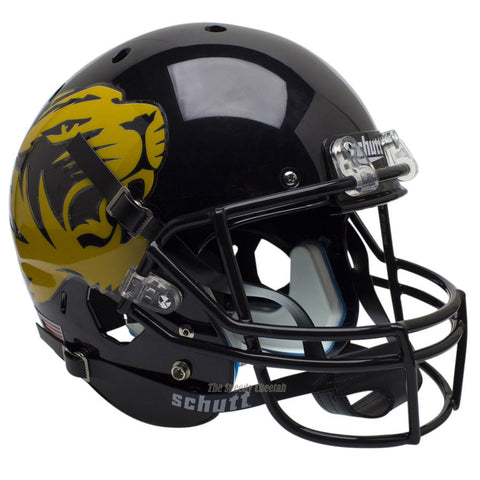 Missouri Tigers Large Tiger Alt 4 Schutt XP Replica Football Helmet