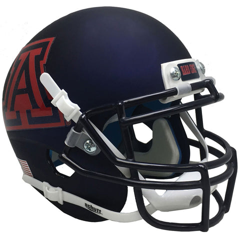 Arizona Wildcats Matte Navy Schutt XP Authentic Football Helmet