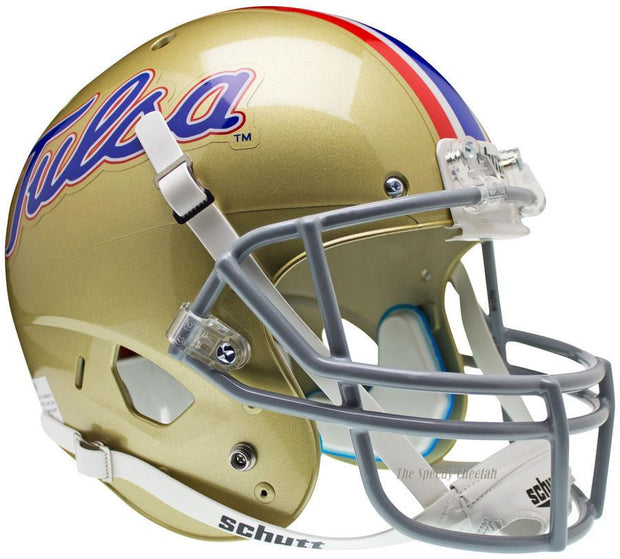Tulsa Golden Hurricane Schutt XP Full Size Replica Football Helmet
