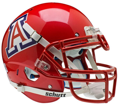 Arizona Wildcats Scarlet Schutt XP Authentic Football Helmet